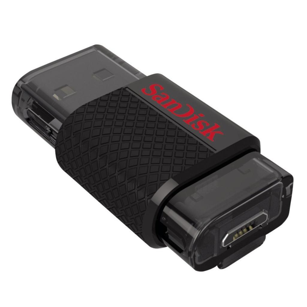 Clé USB 2.0 à double connectique SanDisk Ultra 32 Go - OTG