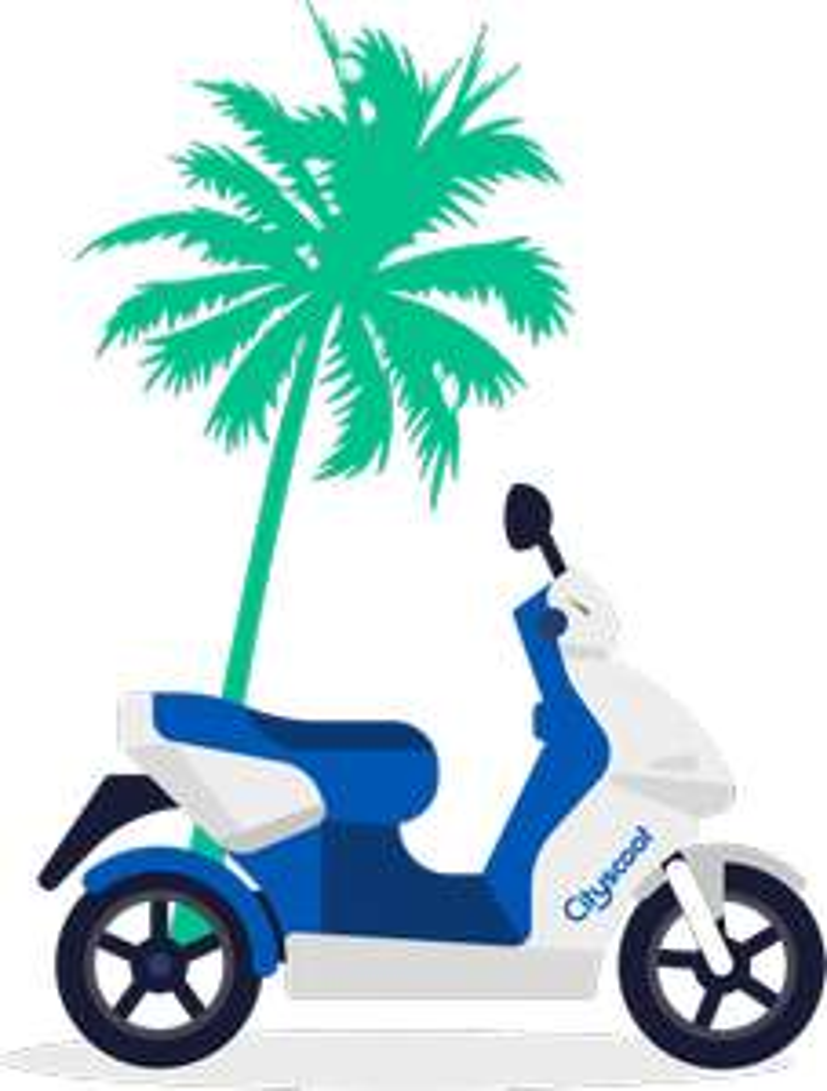 30 minutes de location d'un scooter électrique gratuit - Nice (06)