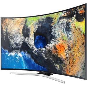 "TV incurvé LED 65"" Samsung UE65MU6272U - UHD, Smart TV, Rétro éclairage LED Edge"