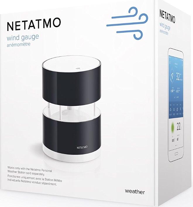 Anémomètre  Netatmo NWA01-WW pour Station Météo
