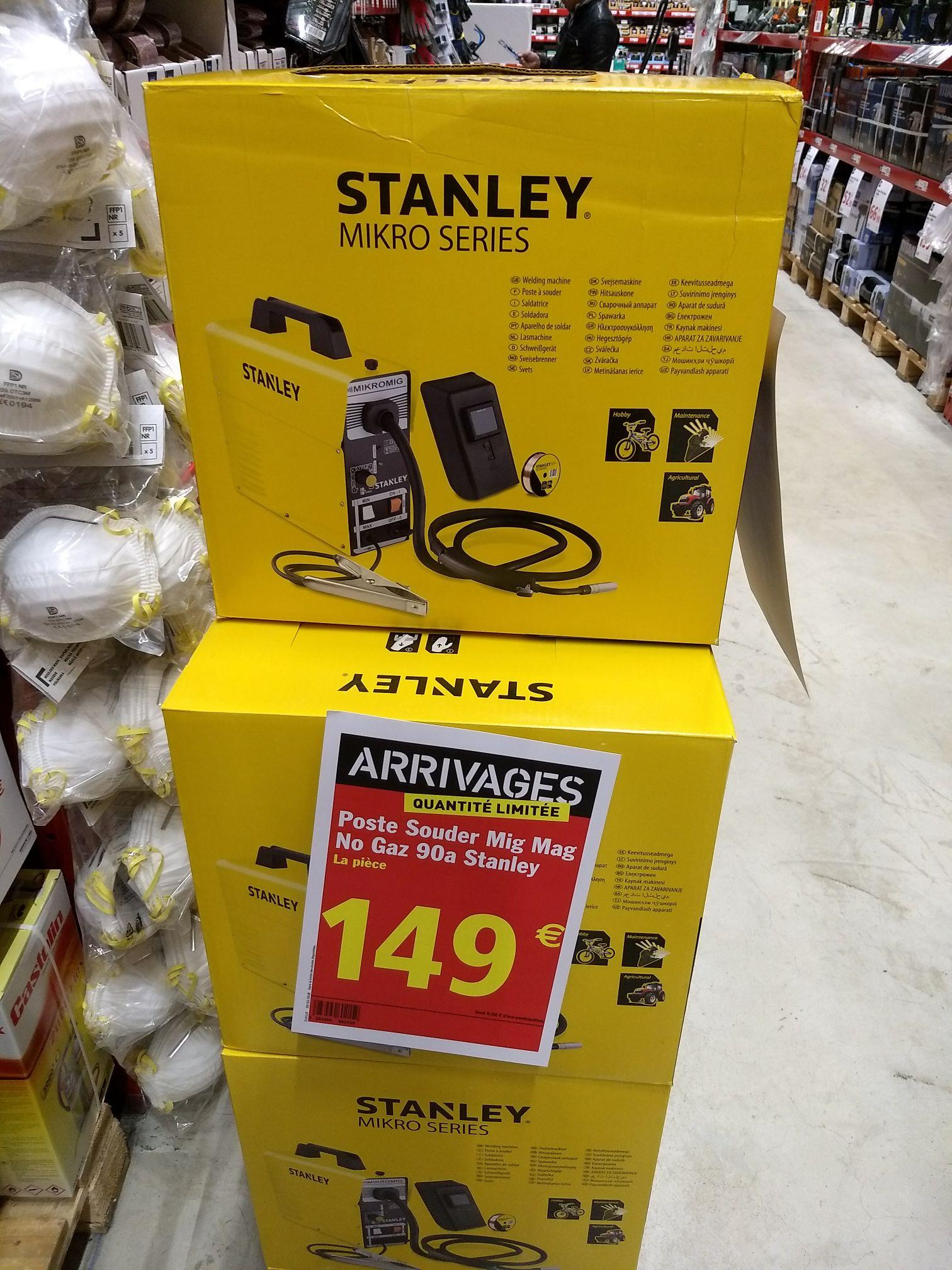 Poste à souder Stanley sans gaz (Longwy 54)