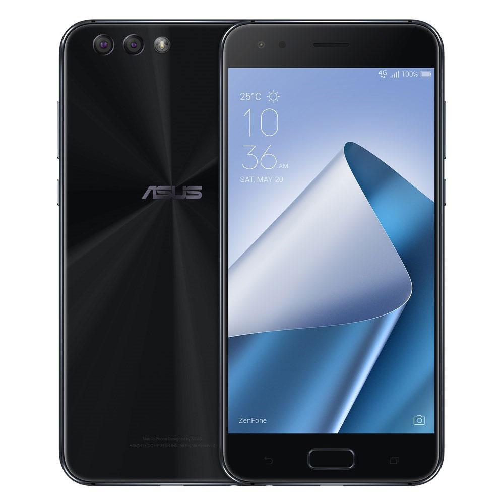"Smartphone 5.5"" Asus ZenFone 4 ZE554KL (Noir) - Full HD, Snapdragon 630, RAM 4 Go, ROM 64 Go"