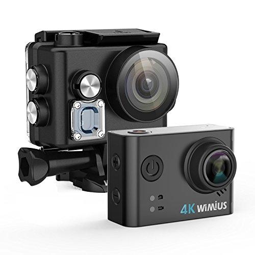Caméra sportive WiMiUs L2 - Wi-Fi, 4K UHD, 12 Mpix, avec 2 batteries + acessoires (vendeur tiers)