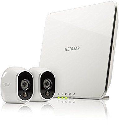 Système de sécurité Netgear Arlo Pro VMS3230- avec 2 caméras de surveillance sur IP