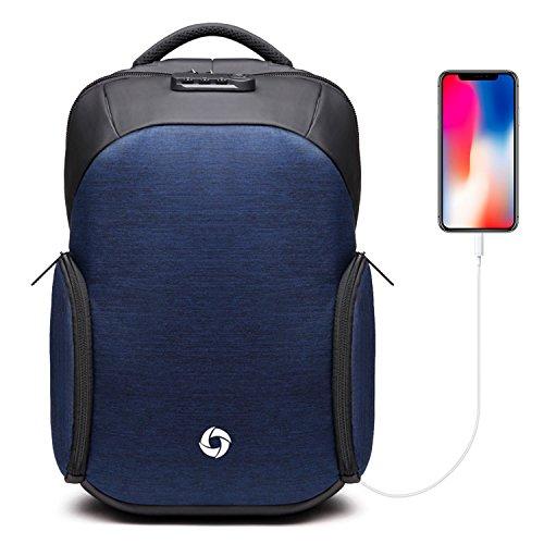 """Sac à dos pour PC portable 15.6"""" MuPack Oxford - imperméable, avec câble USB intégré (vendeur tiers)"""