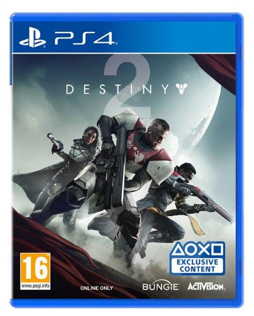 Destiny 2 sur PS4 et Xbox One (frontaliers Belgique)