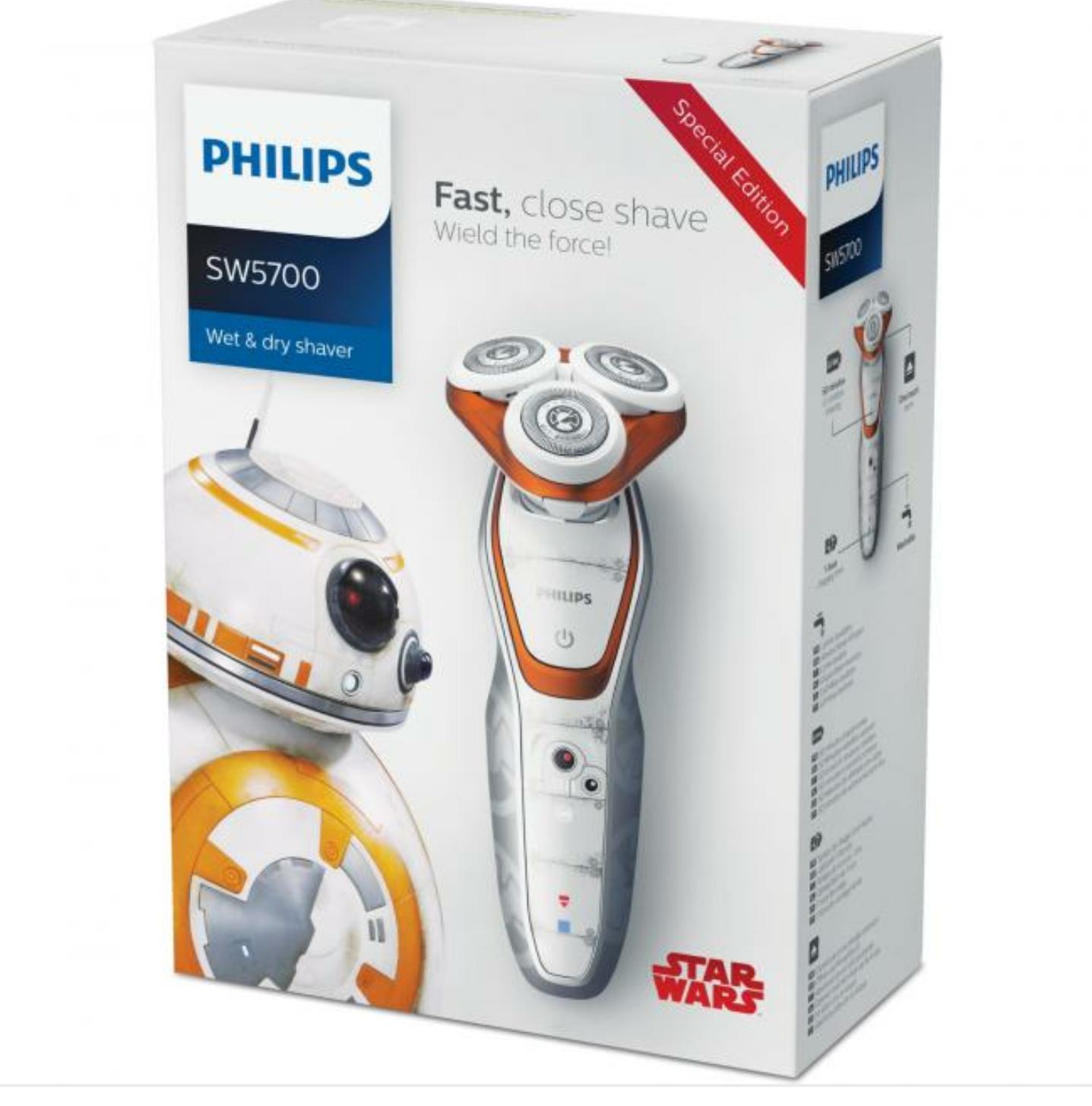 Rasoir électrique SW5700/07 Star Wars Shaver BB-8 (via 5€ Click & Collect ©)