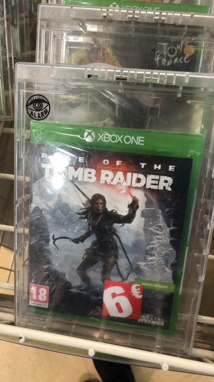 Sélection de jeux vidéos Xbox One, PS4, PS3 en promotion - Ex : Rise Of The Tomb Raider sur Xbox One à 6€ - Gennevilliers (92)