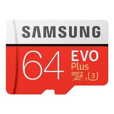 Carte Micro SDXC Samsung EVO Plus U3 - 64 Go