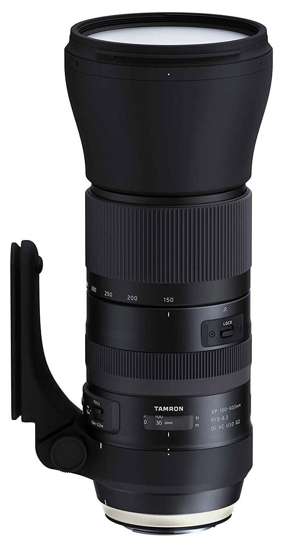 Téléobjectif Tamron 150-600 mm / F 5.0-6.3 G2 pour Canon