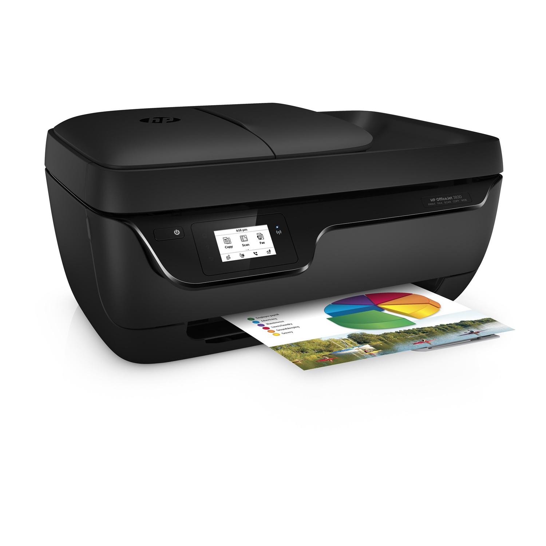 Imprimante Multifonction 4-en-1 HP Officejet 3833 - Jet d'encre, Couleur, WiFi (via retrait Click & Collect + ODR de 20€ + 10€)