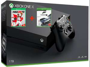 Console Xbox One X 1 To + NBA 2K18 + Forza Motorsport 7 + 2ème manette (Frontaliers Allemagne)