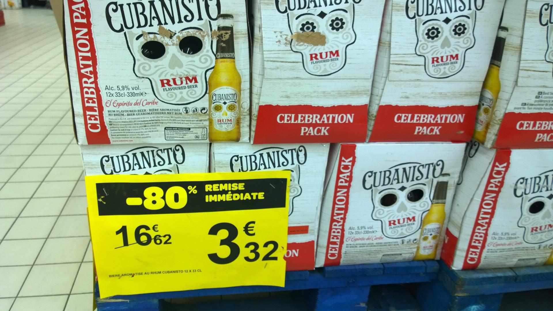 Pack de bières Cubanisto 12 x 33cl