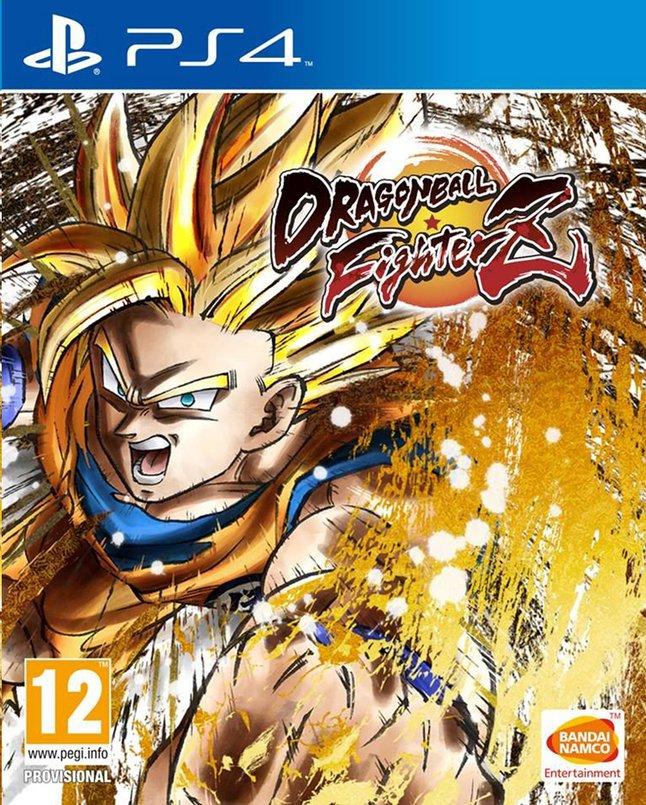 Dragon Ball fighterZ sur PS4 (Frontaliers Belgique)