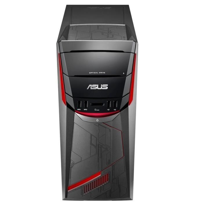 PC de Bureau Asus G11DF-FR045T - Ryzen 7 1800X, 16 Go RAM, 1 To + 256 Go SSD, GeForce GTX1060