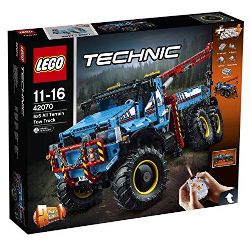 Jeu de construction Lego Technic - La dépanneuse tout-terrain 6x6 n°42070