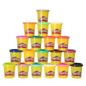 Pack de 20 pots de pâtes à modeler Play Doh