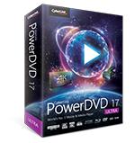 Logiciel Cyberlink PowerDVD 17 Ultra (+ Power2Go 11 Platinum et Power Media Player MR offerts)