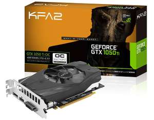 Carte graphique KFA2 GeForce GTX1050 Ti OC - 4 Go