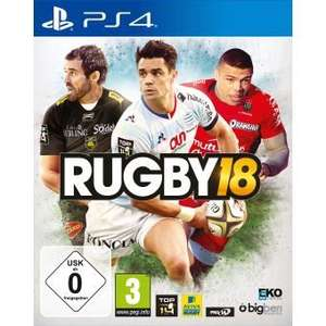 Rugby 18 sur PS4 et Xbox One (Import anglais)