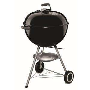 Barbecue à charbon Weber Original Kettle - 57 cm, Acier chromé/Noir