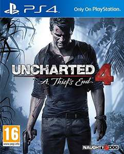 Jeu Uncharted 4 : A Thief's End sur PS4 (vendeur tiers)