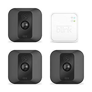 Lot de 3 caméras extérieures Blink XT sans fil pour smartphone - Full HD, IP65