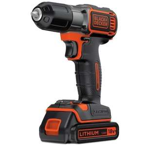 Perceuse visseuse Black & Decker Autosense 18V Lithium