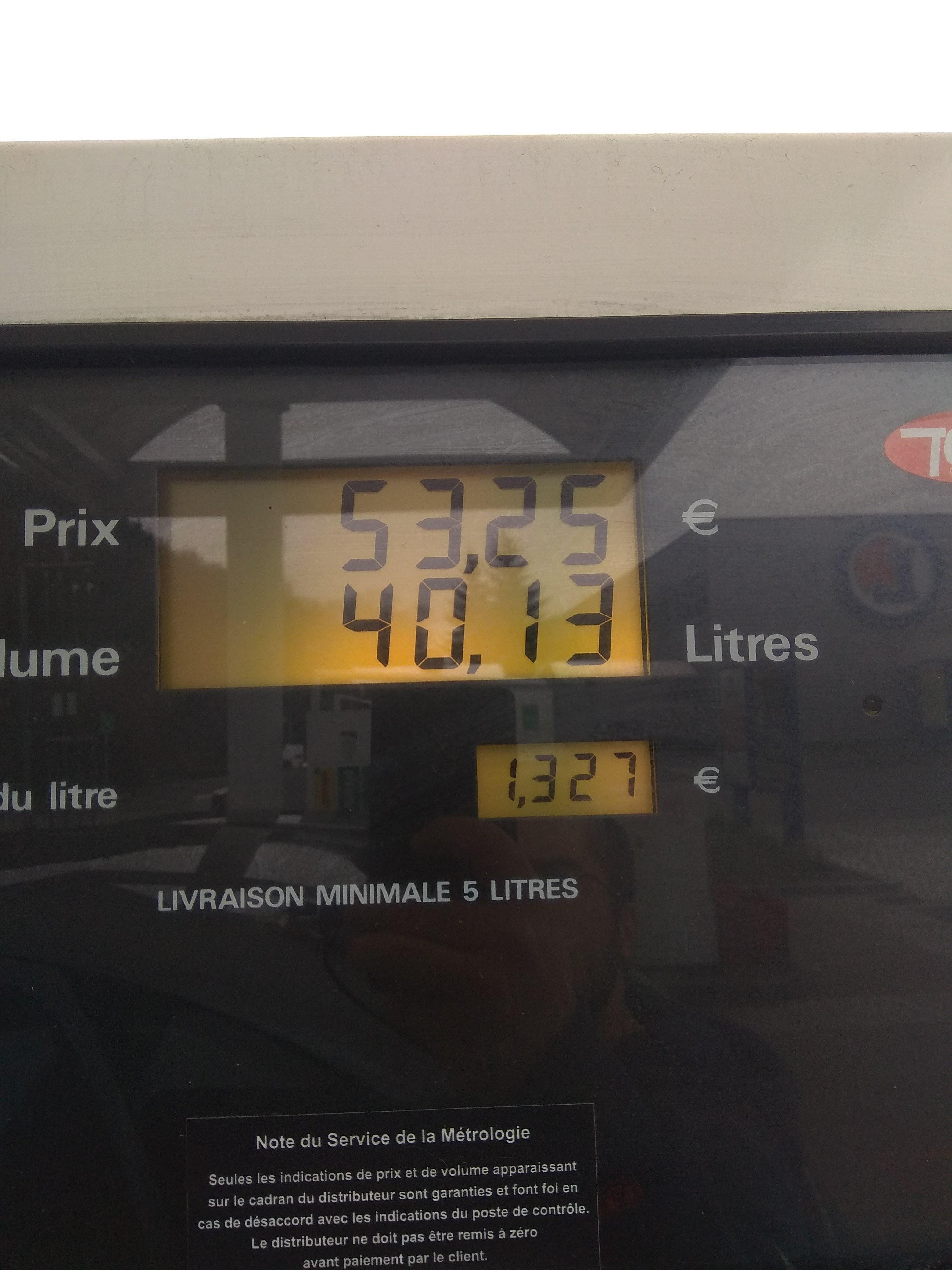 Carburant prix coûtant - Saint-Loup (69)