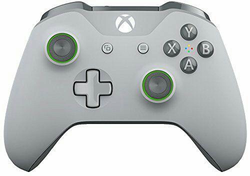 Manette sans-fil pour Xbox One - Gris / Vert