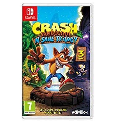 [Précommande] Crash Bandicoot N.Sane Trilogy sur Nintendo Switch & Xbox one