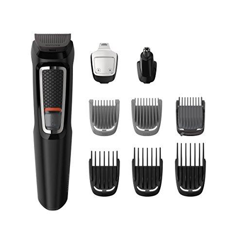 Tondeuse 9-en-1 Philips Multigroom series 3000 - MG3740/15  pour Visage et Cheveux