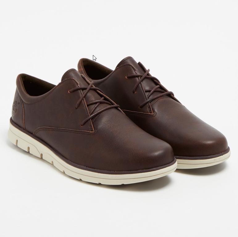 Chaussures Derbys Timberland en cuir Bradstreet PT Oxford - Marron foncé