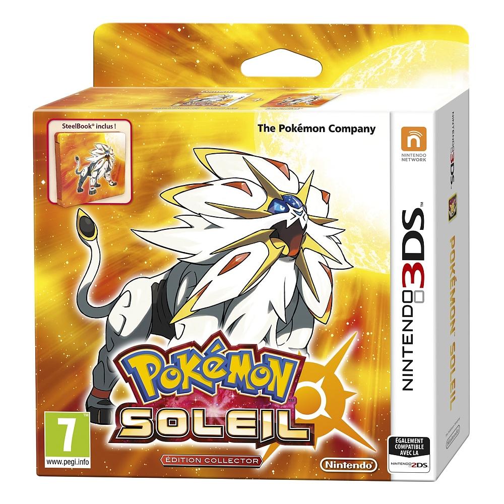 Sélection de produits multimédia jusqu'à -50% - Ex: Pokémon Soleil - Fan Édition (+ Steel Book) sur Nintendo 3DS