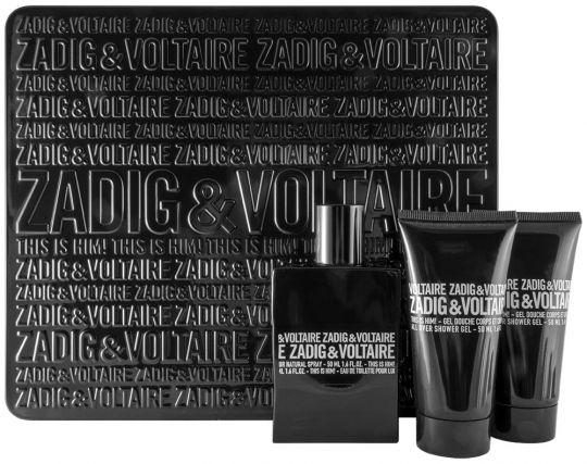 Coffret Zadig et Voltaire: This is him! Eau de toilette 50ml + 2 gels douche 50ml