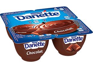 3 packs de 4 Danette Crème Dessert au choix (via application Danone + BDR)