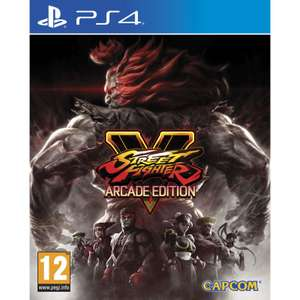 Jeu Street Fighter V - Edition Arcade sur PS4
