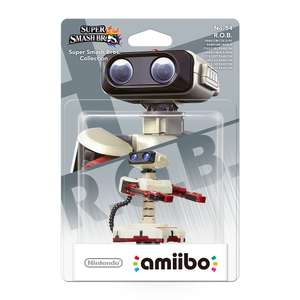 Sélection de Figurines Amiibo en promotion - Ex : Figurine Super Smash Bros - R.O.B
