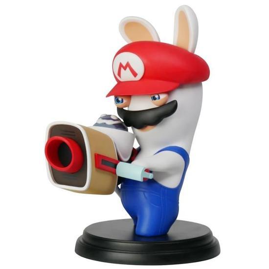 Figurine Mario + The Lapins Crétins Kingdom Battle - 15cm (au choix)
