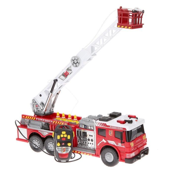 Camion de Pompier Radiocommandé Dickie Toys 203719001 - 62 cm