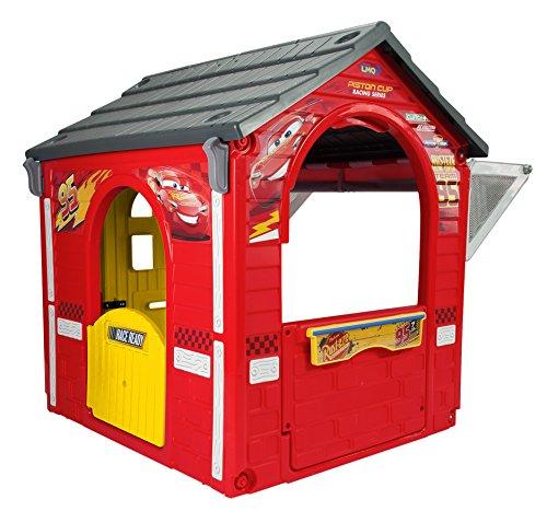 maison d 39 xt rieur pour enfant cars 3 garage. Black Bedroom Furniture Sets. Home Design Ideas