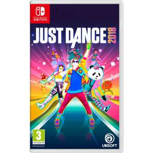 Just Dance 2018 sur Switch/PS4/Xbox One
