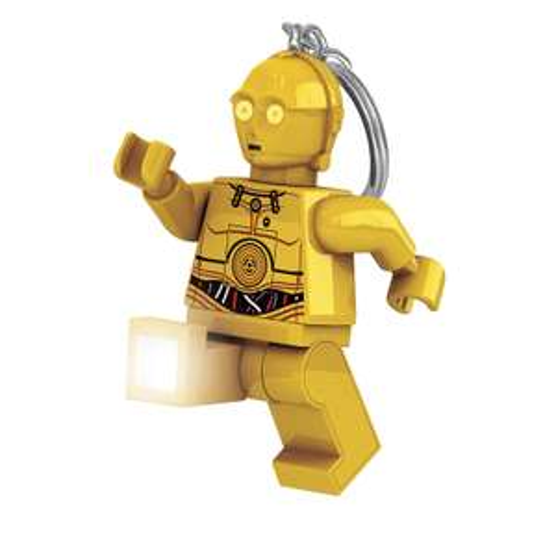 Porte-clé Lego Star Wars LED C3PO