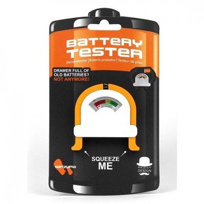 Lot de 2 testeurs de niveau de batterie Satzuma pour piles (1,5V et 9V)