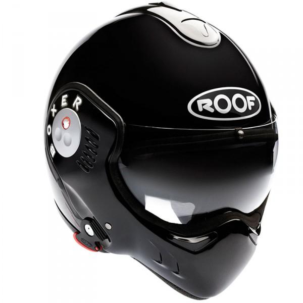 Casque moto Roof Boxer V8 Black