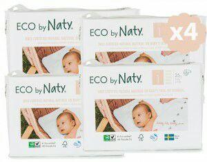 Jusqu'à 50% de réduction sur une sélection couches - Ex : Pack économique x4 - Nouvelles Couches Jetables Eco Naty
