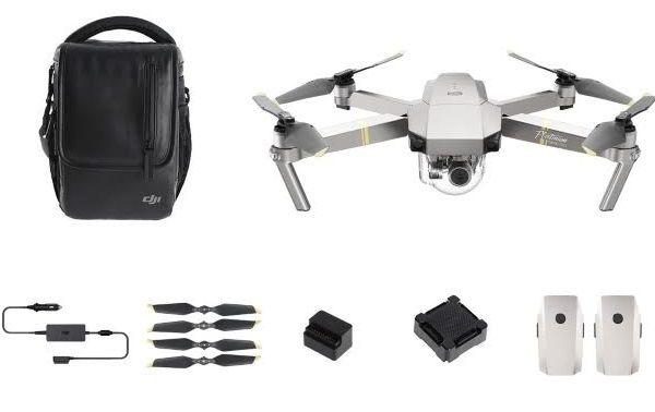 Drone Mavic Pro Platinium Fly More Combo (+456€ en SuperPoints via l'application)