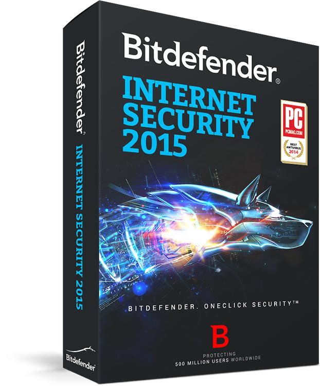 Bitdefender Internet Security 2015 - 3 postes / 1 an