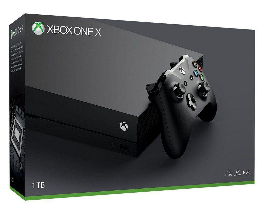 Console Xbox One X 1 To (+ Jusqu'à 101.40€ en SuperPoints)