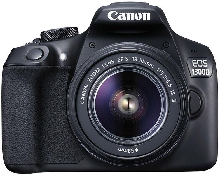 Appareil photo Reflex Canon EOS 1300D + Objectif EF-S 18-55mm (+ Jusqu'à 76,50 € en SuperPoints)
